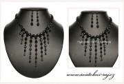 Zobrazit detail - Souprava z černých perel