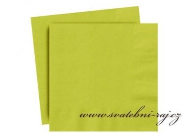 Zelené ubrousky