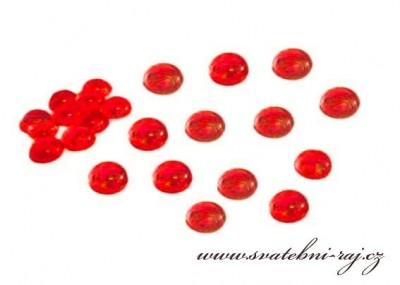 Kapky rosy červené
