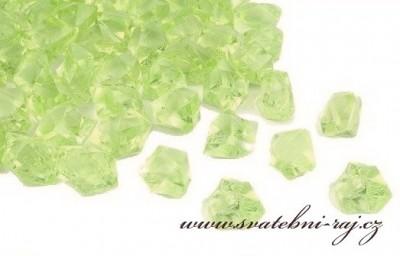 Ledové krystaly zelené