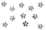 Zobrazit detail - Jemné květinky stříbrné