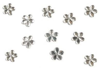 Stříbrné květinky