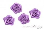 Zobrazit detail - Textilní růžička fialová