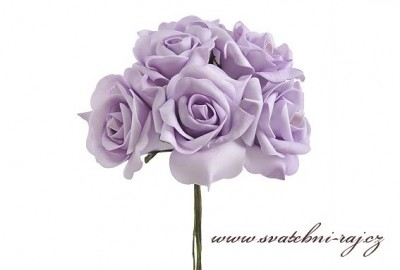 Pěnová růže fialová