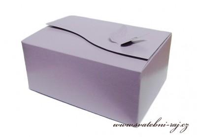 Krabička na výslužku s motýlkem