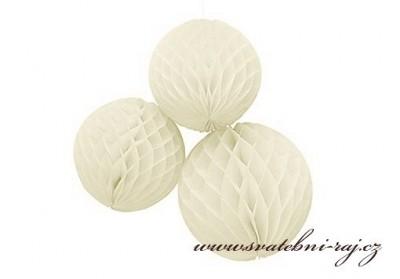 ekorační koule Honeycomb