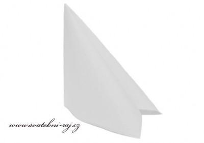 Luxusní ubrousky v bílé barvě