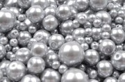 Zobrazit detail - Voskové perličky stříbrné