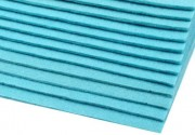 Zobrazit detail - Plsť světle modrá, tloušťka 2 - 3 mm