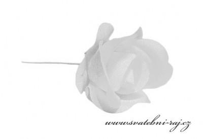 Bílá růžíčka