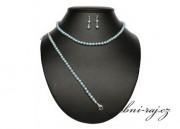 Zobrazit detail - Souprava z mint-blue perel