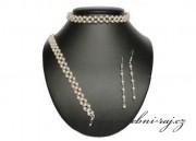 Zobrazit detail - Pletená perličková souprava