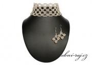 Zobrazit detail - Luxusní svatební souprava s perličkami