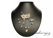 Zobrazit detail - Svatební drátkový náhrdelník