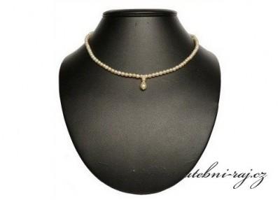 Perličkový náhrdelník