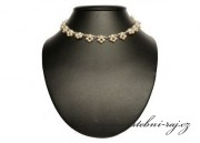 Náhrdelník z šampaňských perel