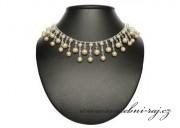 Luxusní náhrdelník s perlami