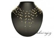 Luxusní perličková pavučinka