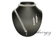 Zobrazit detail - Luxusní svatební perlová souprava