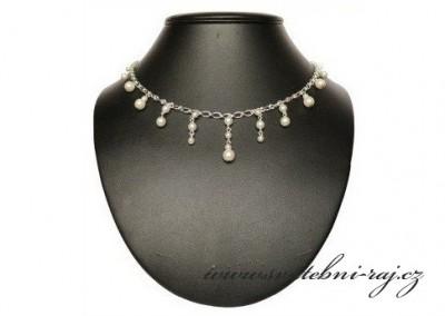 Náhrdelník s perlami