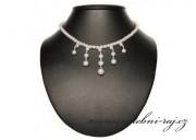 Perličkový náhrdelník pro nevěstu