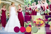 Barevné svatební trendy pro rok 2015