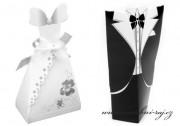 Zobrazit detail - Sada krabiček - ženich a nevěsta