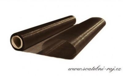 Organza šerpa čokoládová