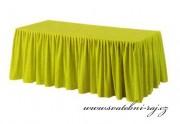 Zobrazit detail - Rautová sukýnka - jablíčkově zelená