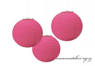 Lampion fuchsia
