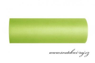 Dekorační tyl zelený