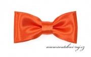 Zobrazit detail - Mini motýlek s kapesníčkem oranžový