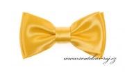 Zobrazit detail - Mini motýlek s kapesníčkem žlutý