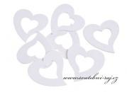 Zobrazit detail - Dřevěná srdíčka srdce