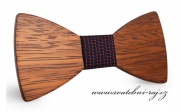 Zobrazit detail - Motýlek pro ženicha dřevěný