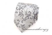 Zobrazit detail - Svatební kravata se vzorem