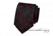 Zobrazit detail - Černá kravata se vzorem