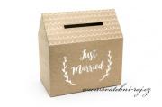 Zobrazit detail - Papírový domeček - krabice na penízky