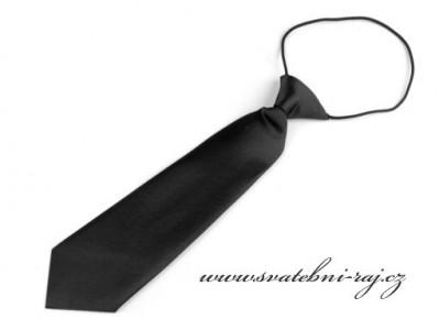 Chlapecká kravata černá
