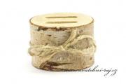 Zobrazit detail - Dřevěná kulatina na snubní prsteny
