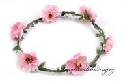 Zobrazit detail - Květinový věneček růžový