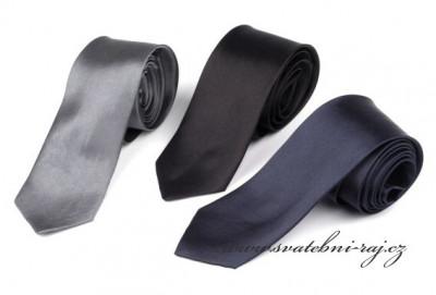 Pánská saténová kravata