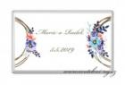 Svatební čokoládka květinové kolo