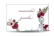 Zobrazit detail - Svatební jmenovka věneček
