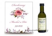 Zobrazit detail - Svatební víno akvarel