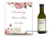Zobrazit detail - Svatební víno s pivoňkami