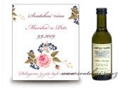 Zobrazit detail - Svatební víno s růží