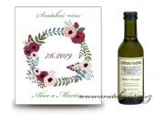 Zobrazit detail - Svatební víno věneček