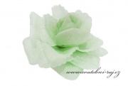 Taftová růže světlounce mint-green
