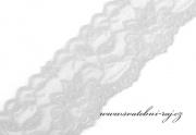 Dekorační elastická krajka, šíře 5,5 cm